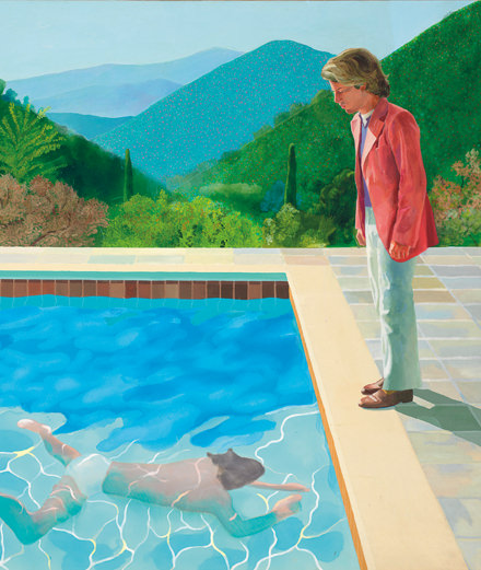 David Hockney bat Jeff Koons aux enchères