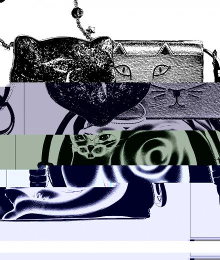 Gucci, Charlotte Olympia, and Loewe's feline bags