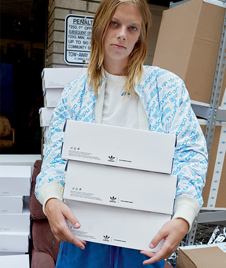 What does Alexander Wang's third collection for adidas Originals look like?