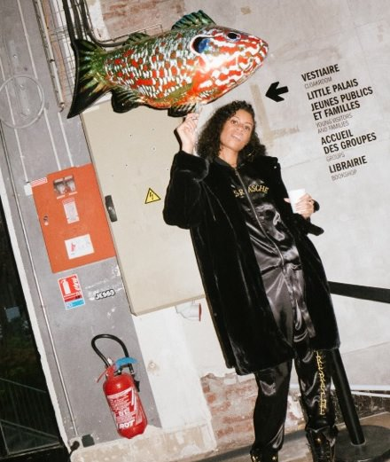 24 hours in Paris with Aluna Francis, the smooth voice from the band AlunaGeorge