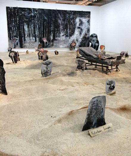 Rétrospective Anselm Kiefer au Centre Pompidou: l'interview du maître