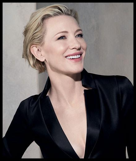 Cate Blanchett incarnera, tout à la fois, le maquillage, le soin et le parfum de Giorgio Armani