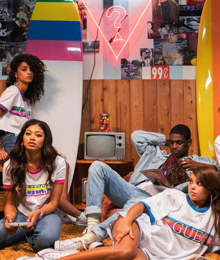 A$ap Rocky continues his hip-hop collaboration with Guess originals