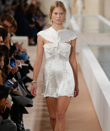 Balenciaga and Loewe spring summer 2016 fashion show