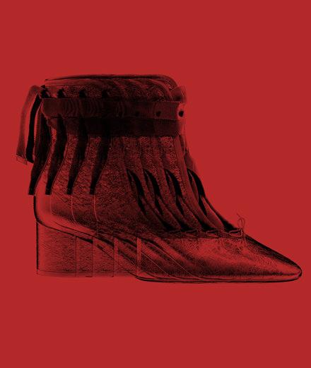 L'objet fétiche de la semaine : la ballerine à talon en cuir Valentino