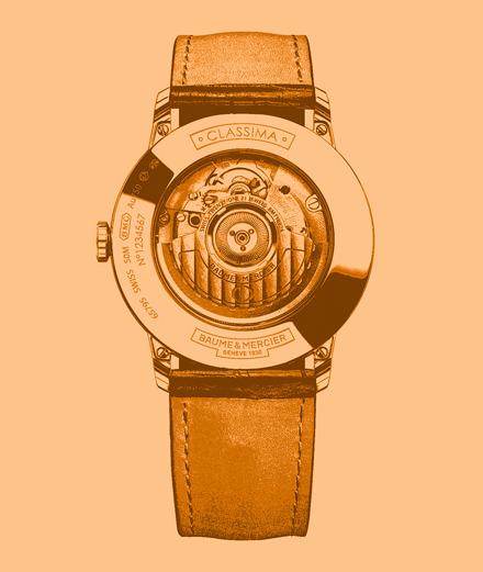La montre Classima 10271 de Baume & Mercier