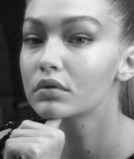 Behind the scene : Gigi Hadid by Jean-Baptiste Mondino