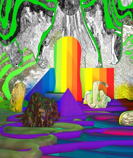 Portfolio : les installations surréalistes de Benedict Drew