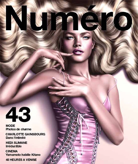 Best of Numéro <br> Natalia Vodianova