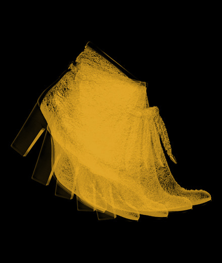 Fetish object of the week: the golden boot by Michel Vivien