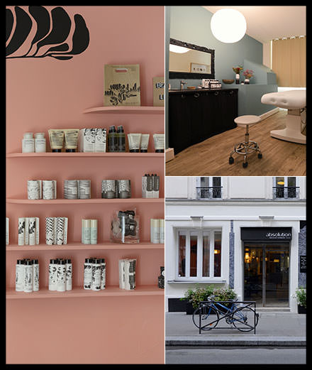 La nouvelle boutique Absolution à Paris