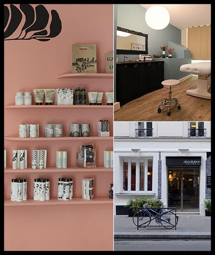 La nouvelle boutique Absolution à Paris