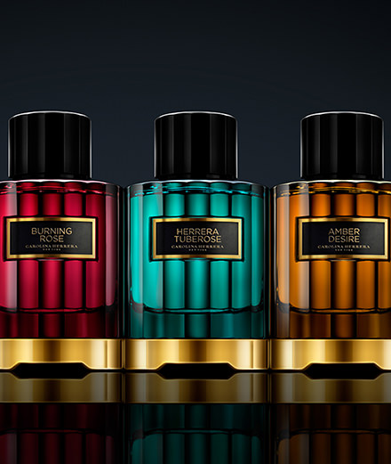 La collection de parfums Carolina Herrera
