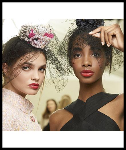 Backstage : le maquillage du défilé haute couture Chanel printemps-été 2018