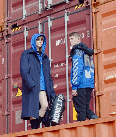 Que réserve la nouvelle collaboration de Moncler et du label de Virgil Abloh, Off-White?