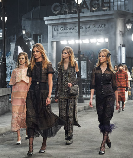 The Chanel Métiers d'art runway show: Karl Lagerfeld's stunning tribute to Paris