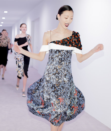 Les backstages du défilé Dior automne-hiver 2016-2017