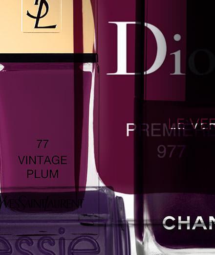 Notre best of des vernis violets
