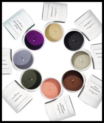 Coup de cœur de la semaine, les bougies de la Maison Christian Dior
