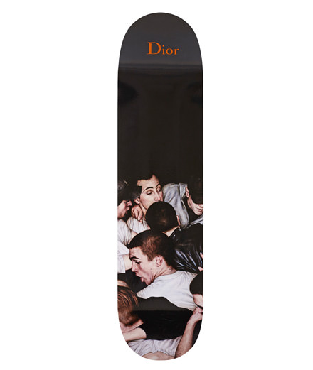 Object du jour : the Dior Homme skateboard