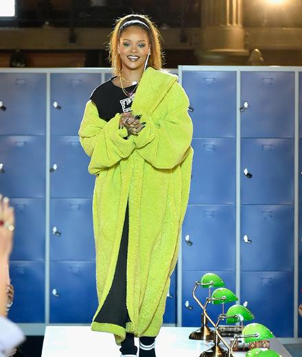 Fenty x Puma fall-winter 2017-2018 show