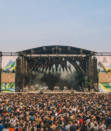 Que nous réserve le festival We Love Green ?