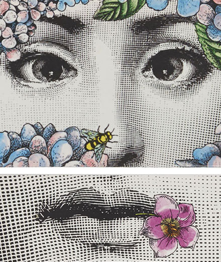Encense according to Fornasetti