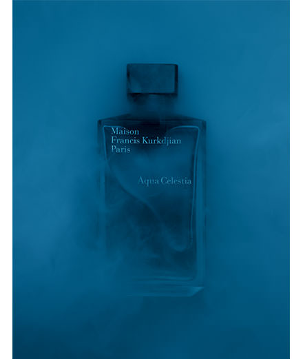 """""""La note bleue"""", les parfums masculins interprétés par Guido Mocafico"""