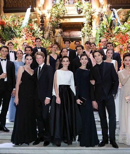 Quelles étaient les personnalités présentes au gala de l'Opéra de Paris ?