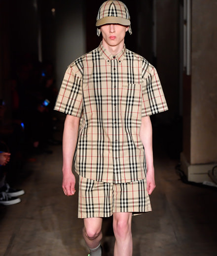 La collaboration Gosha Rubchinsky x Burberry printemps-été 2018