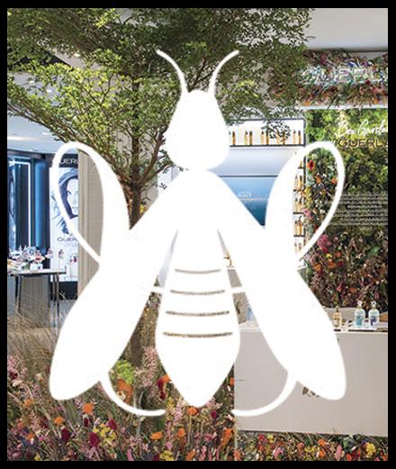 Le nouveau pop-up de la Maison Guerlain rend hommage à l'abeille !
