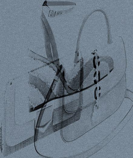 Les accessoires denim signés Louis Vuitton, Roger Vivier et Jimmy Choo