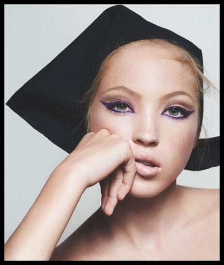 Lila Moss, nouvelle égérie Marc Jacobs Beauty