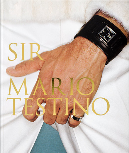 "Mario Testino pays tribute to men with ""Sir"""