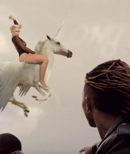 Kendrick Lamar, Rae Sremmurd and Gucci Mane's surreal music video