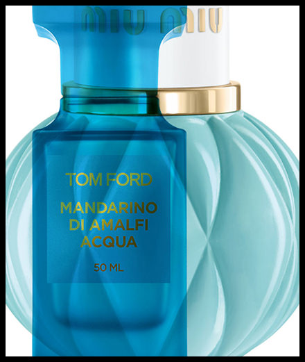 Turquoises ou améthystes, les parfums de Miu Miu, Tom Ford, Penhaligon's etc