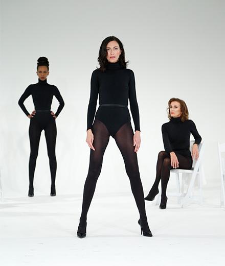 """Models Never Talk"", la performance éloquente d'Olivier Saillard"