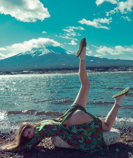 """Exclusif : la série mode """"La montagne sacrée"""" par Sofia Sanchez et Mauro Mongiello"""