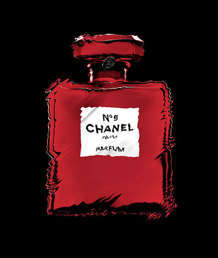 Le N° 5 de Chanel, incandescent plus que jamais !