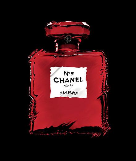 Le N° 5 de Chanel, incandescent plus que jamais !