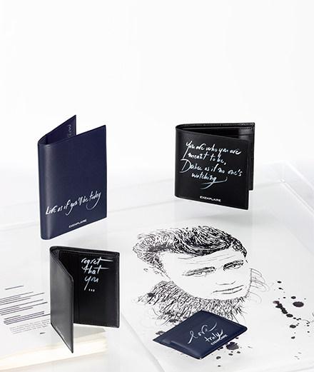 Les belles lettres de Nicolas Ouchenir pour la maison Exemplaire