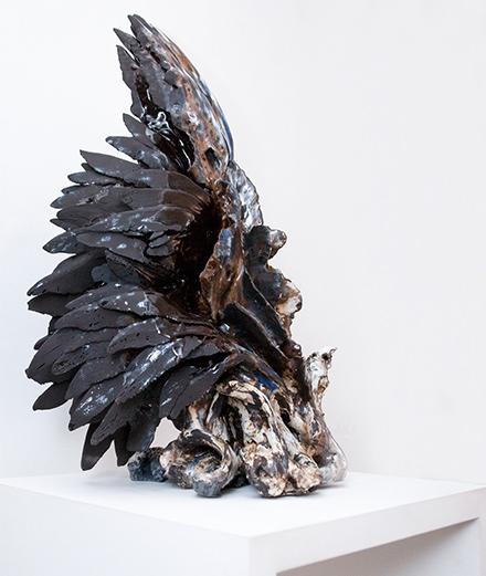 Les spectaculaires céramiques de Jennifer Ramsay à la Galerie Nec