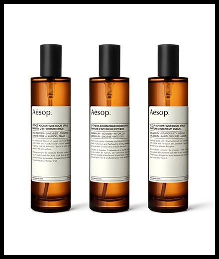 Le coup de cœur de la semaine : les parfums d'intérieur Aesop