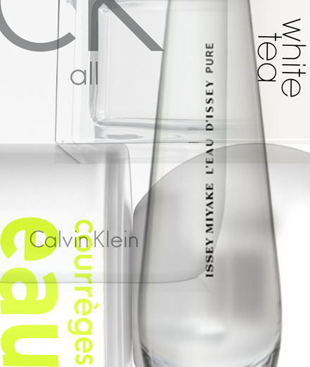 Les parfums vierges signés Issey Miyake, Calvin Klein, Courrèges…