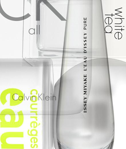 Les parfums vierges signés Issey Miyake, Calvin Klein, Courrèges…