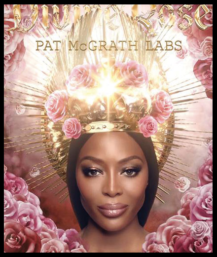Naomi Campbell devient le visage officiel de Pat McGrath Labs