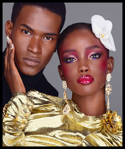 L'ultra glam : Path McGrath & Steven Meisel