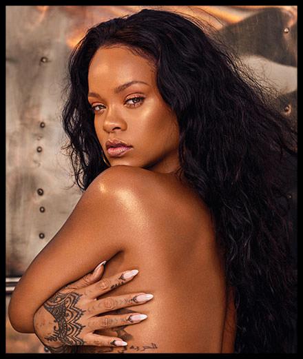 Rihanna, golden girl