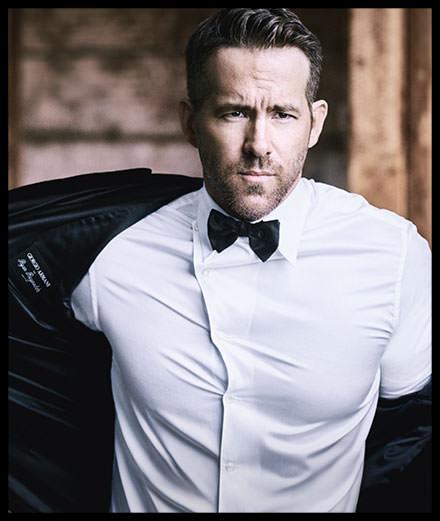 Le comédien Ryan Reynolds, nouvelle égérie parfum