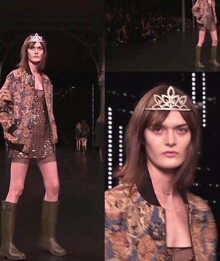 Le défilé Saint Laurent Paris printemps-été 2016